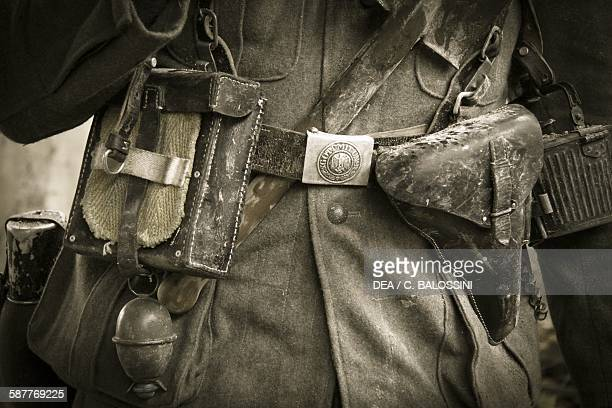 Accoutrements of Wehrmacht soldier Stalingrad winter 1943 Second World War 20th century Historical reenactment