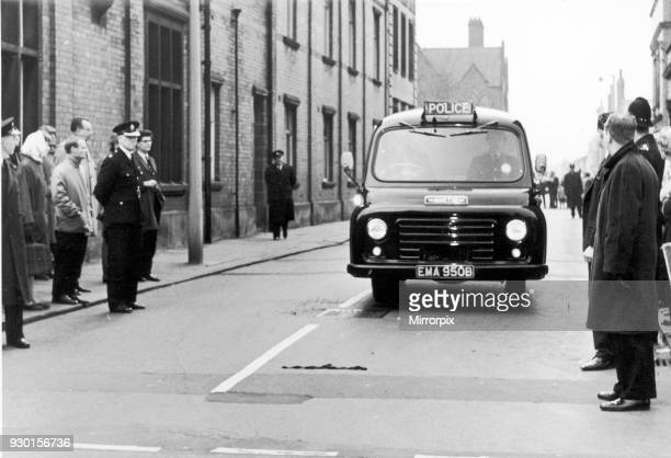 Accused leave Hyde Court Manchester October 1965 The Moors murders were carried out by Ian Brady and Myra Hindley between July 1963 and October 1965...