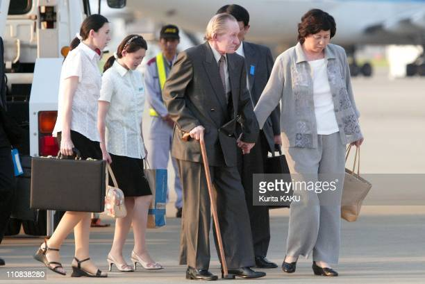 Accused Us Army Deserter Charles Robert Jenkins Arrives In Tokyo Japan On July 18 2004 Accused US army deserter who lived in North Korea for decades...