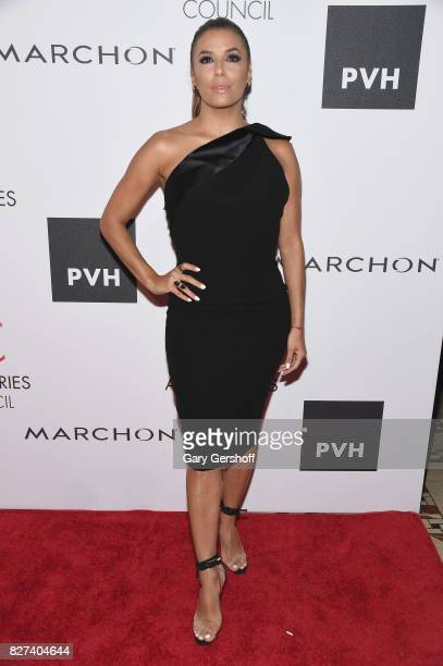 Ace Awards Style Ambassador honoree Eva Longoria attends the 21st Annual Ace Awards hosted by the Accessories Council at Cipriani 42nd Street on...