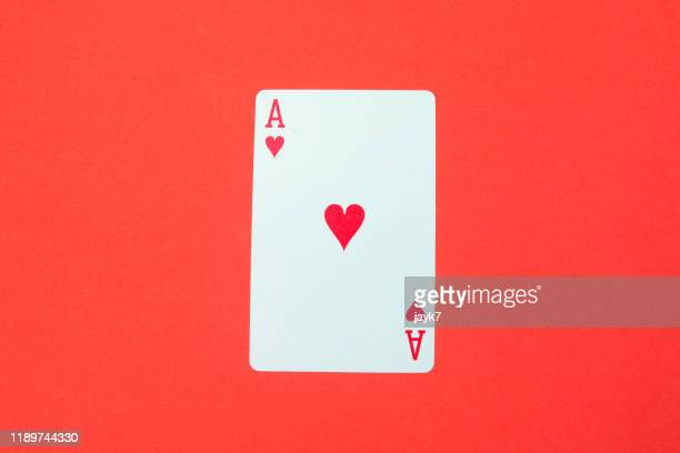 ace card - beating heart stock pictures, royalty-free photos & images