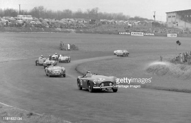 Ace , F Warnwell, Brands Hatch sports car racing Boxing Day meeting 1957. Creator: Unknown.