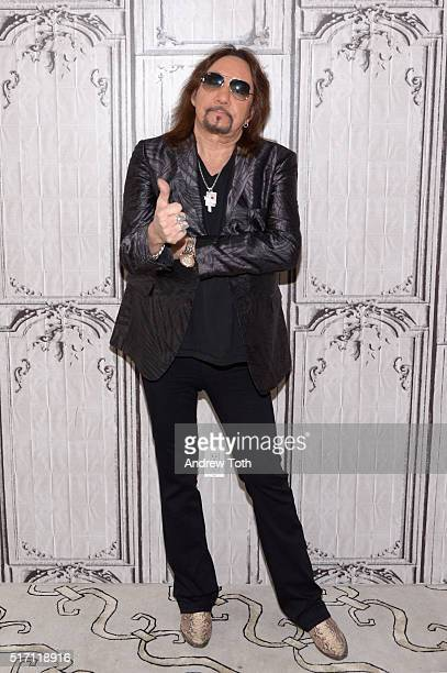 Ace Frehley attends the AOL Build Speaker Series to discuss 'Origins Vol 1' at AOL Studios In New York on March 23 2016 in New York City