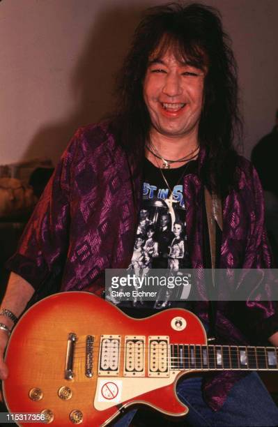 Ace Frehley of KISS during Ace Frehley of KISS at Electric Ladyland Studios at Electric Ladyland Studios in New York City New York United States