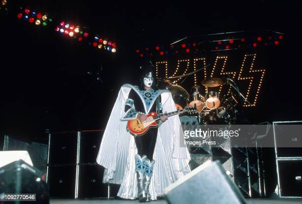 Ace Frehley of Kiss performing at 'Kiss Concert' on July 25 1979 at Madison Square Garden in New York City New York