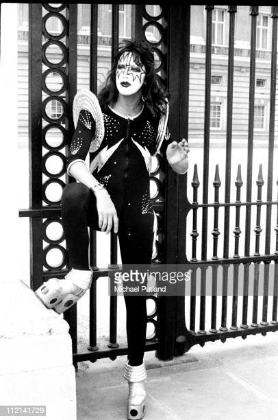 Ace Frehley of Kiss portrait London 10th May 1976