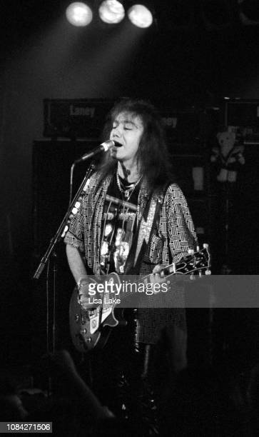 Ace Frehley of the band KISS performs at Starz Nightclub on November 1 in Allentown Pennsylvania
