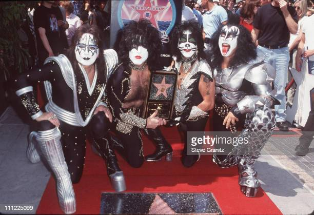 Ace Frehley Paul Stanley Peter Criss and Gene Simmons of KISS