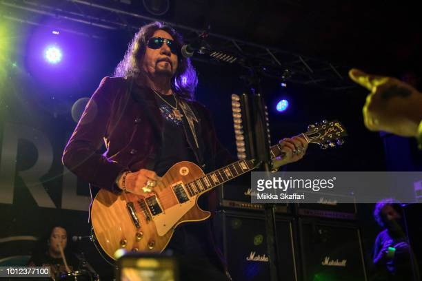 Ace Frehley performs at Cornerstone Craft Beer Live Music on August 6 2018 in Berkeley California