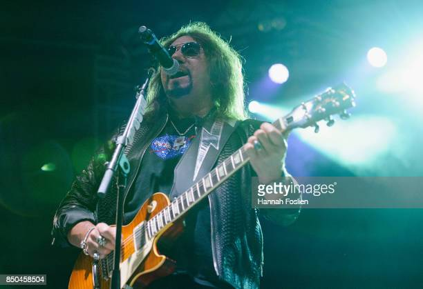 Ace Frehley preforms at The Children Matter Benefit Concert Featuring Gene Simmons Ace Frehley Don Felder And Cheap Trick on September 2 2017 at CHS...