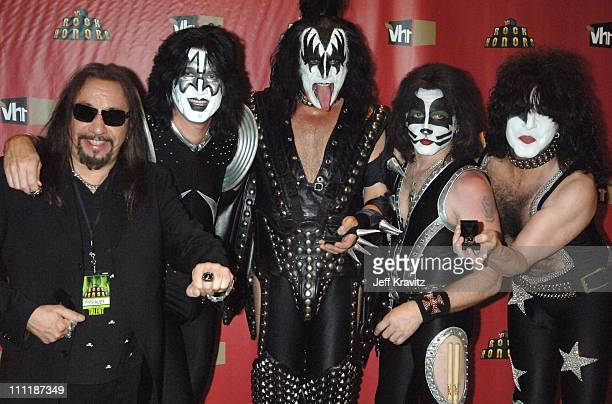 Ace Frehley Tommy Thayer Gene Simmons Eric Singer and Paul Stanley of KISS