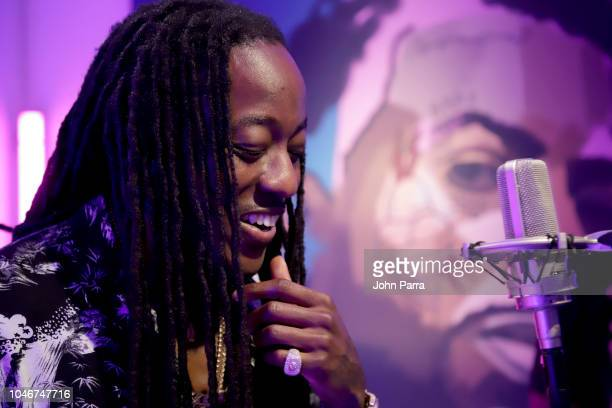 Ace Hood attends the BET Hip Hop Awards 2018 at Fillmore Miami Beach on October 6 2018 in Miami Beach Florida