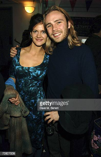 Ace Lawson and partner attends the after party following the opening night of 'The New Statesman' at Trafalgar Studios 1 on December 14 2006 in...