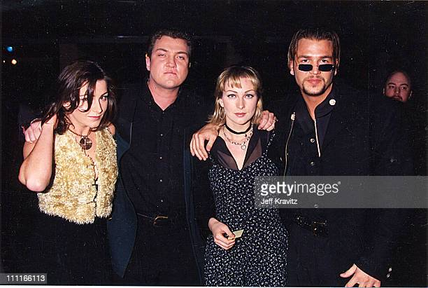 Ace of Base during 1995 MTV Movie Awards in Los Angeles California United States