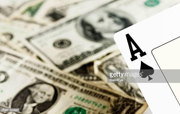 Pik-Ass auf viele Dollar auf jeden Fall eine gute Wahl
