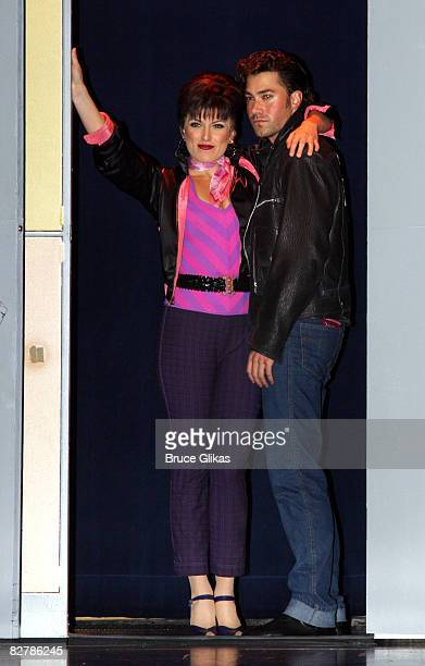 Ace Young of American Idol Season 5 makes his Broadway Debut as Kenickie and Janine DiVita as Rizzo in the Broadway production of Grease at the...