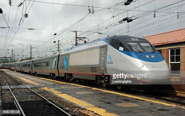 Acela Express at Washington