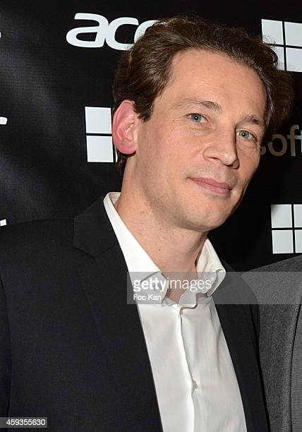 Acer Marketing director Fabrice Massin attends the Acer Pop Up Store Launch Party at Les Halles on November 20, 2014 in Paris, France.