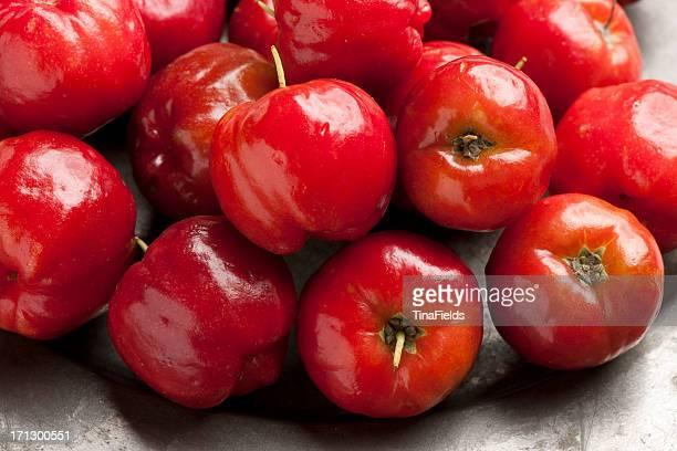 Cereja Acerola frutos.
