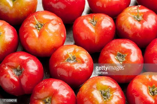 Acerola cherry fruit