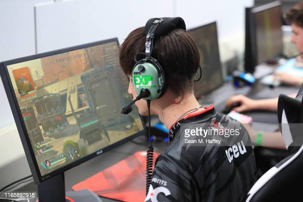 Aceu of Team NRG competes during the EXP InvitationalApex Legends at X Games 2019 Minneapolis at US Bank Stadium on August 02 2019 in Minneapolis...