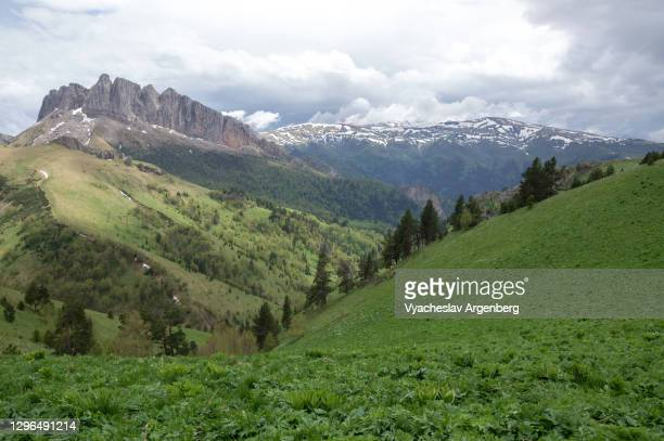acheshbok mount, adygea, caucasus mountains - argenberg stock pictures, royalty-free photos & images