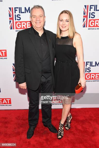 Achievement in Visual Effects nominee Neil Corbould attends Film is GREAT Reception honoring the British Nominees of the 89th Annual Academy Awards...