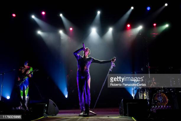 Achille Lauro Performs on October 4 2019 in Rome Italy