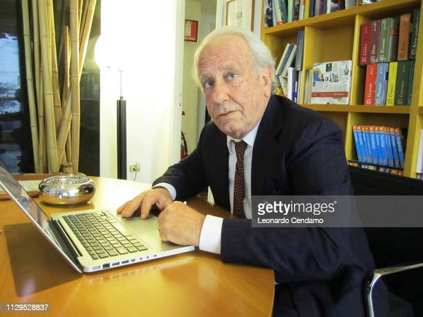 Achille Mauri President Of Messaggerie Group Italy Torino Italy 2011