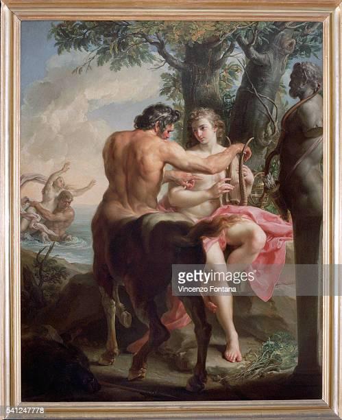 Achilles and the Centaur Chiron by Pompeo Girolamo Batoni