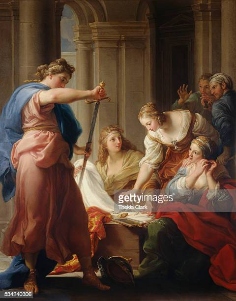 Achilles at the Court of Lycomedes by Pompeo Batoni