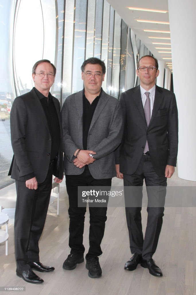 DEU: Elbphilharmonie Hamburg Presents New  Chief Conductor