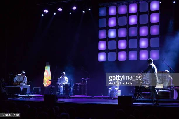 Achim Reichel performs live on stage during a concert at Admiralspalast on April 09 2018 in Berlin Germany