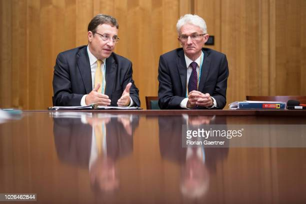 Achim Steiner Administrator of the United Nations Development Programme and Mark Lowcock Head of the United Nations Office for the Coordination of...