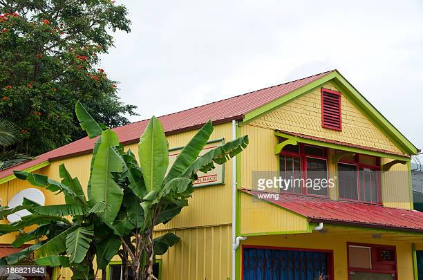 hilo achitecture - pacific islands stock pictures, royalty-free photos & images