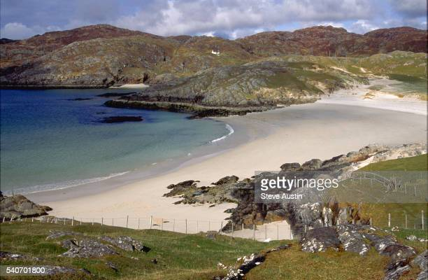 Achmelvich Bay and Sands