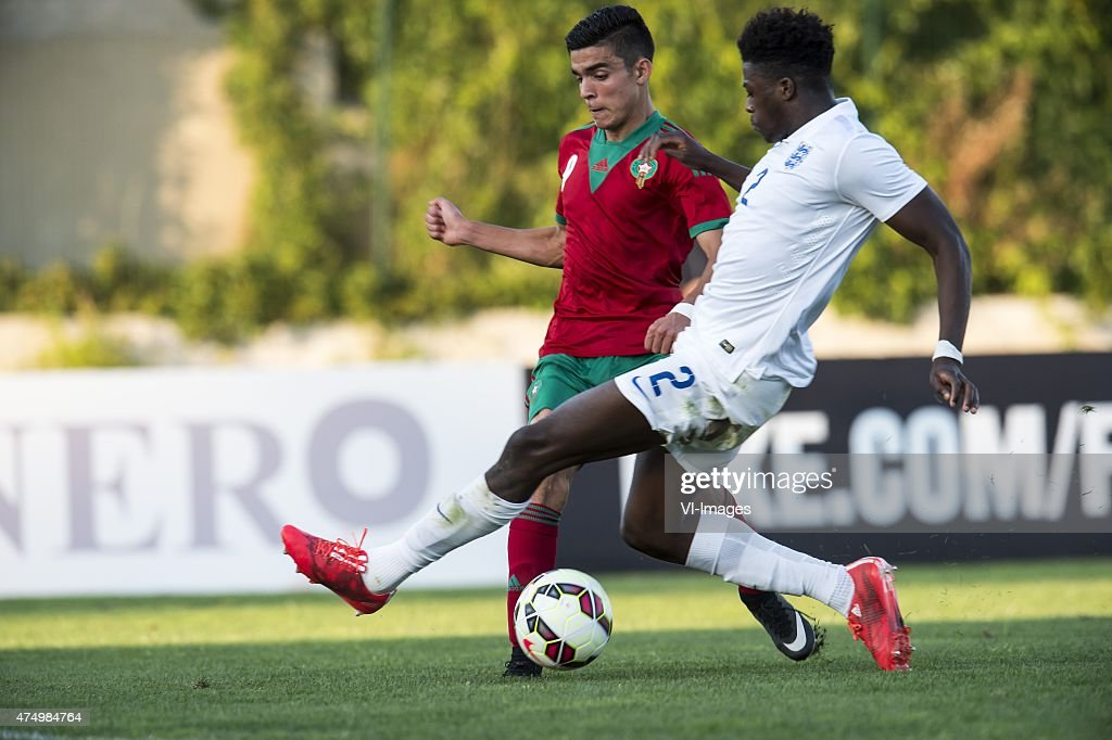 Festival International Espoirs - 'England U21 v Morocco U21' : News Photo