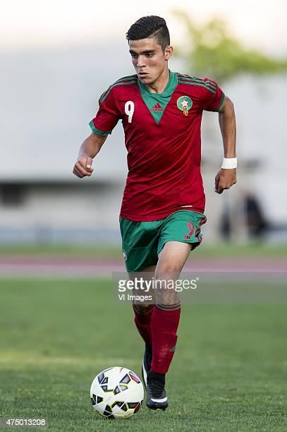 Achraf Bencharki of Morocco U21 during the Festival International Espoirs de Football tournament match between Netherlands U21 and Costa Rica U21 on...