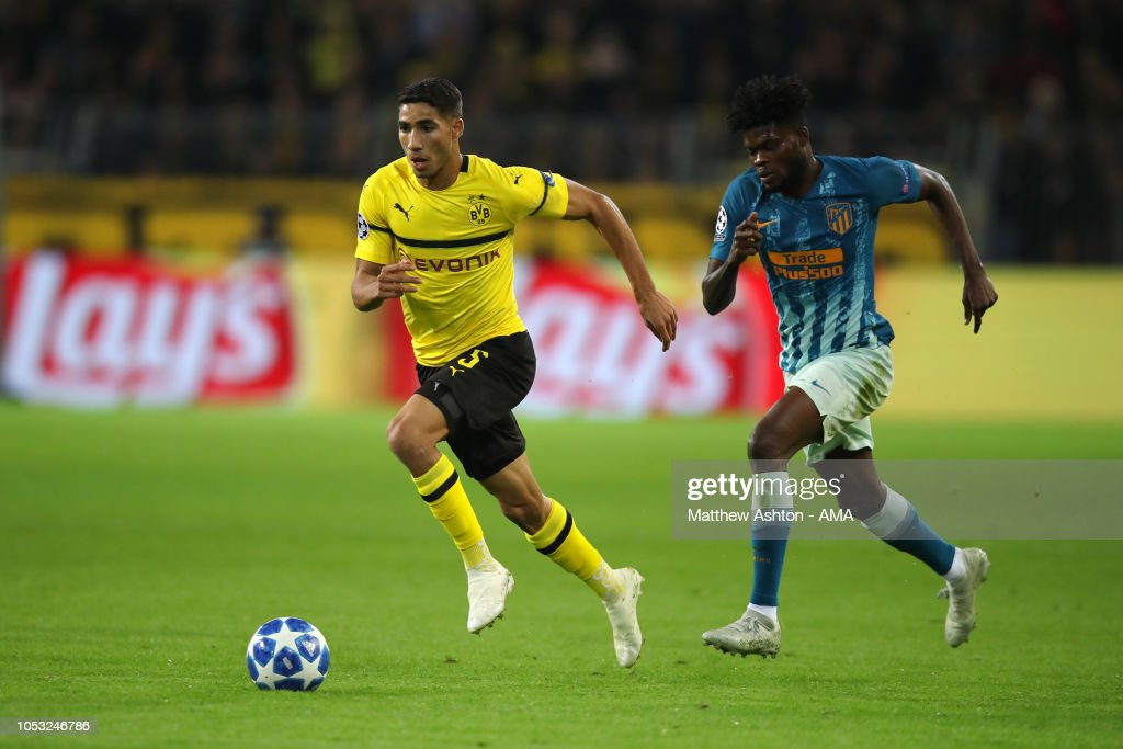 Thomas Partey substituted at half-time as Atletico Madrid suffered a humiliating 4-0 defeat to Dortmund