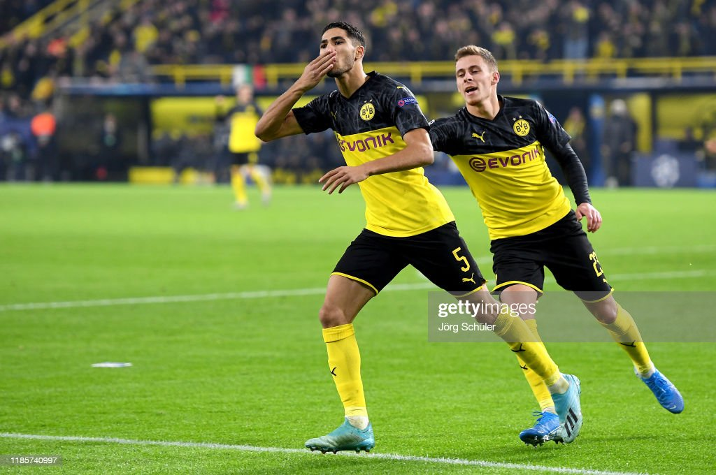 Borussia Dortmund v Inter Milan: Group F - UEFA Champions League : News Photo