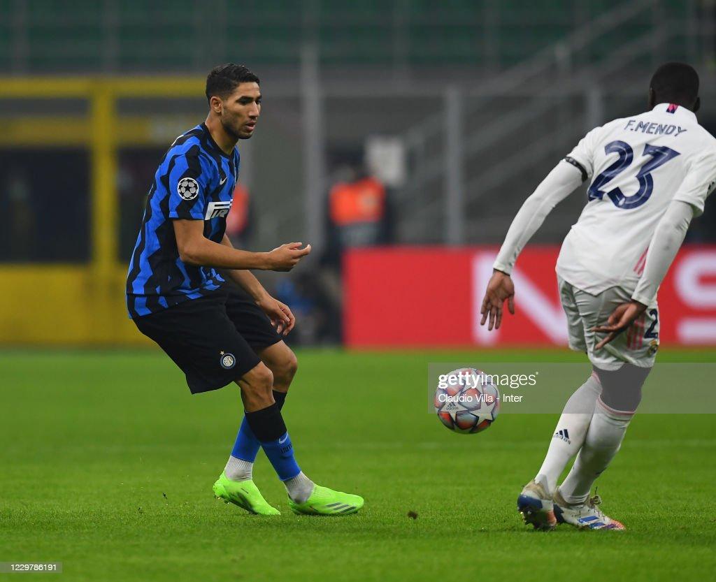 FC Internazionale v Real Madrid: Group B - UEFA Champions League : News Photo