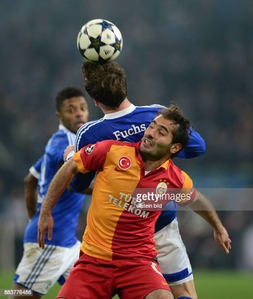 AchtelfinalRückspiel Saison 2012/2013 FUSSBALL CHAMPIONS LEAGUE ACHTELFINALE Rueckspiel 2012/2013 FC Schalke 04 Galatasaray Istanbul Christian Fuchs...