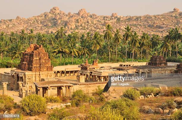 achyuta raya temple,hampi,karnataka,india. - karnataka stock pictures, royalty-free photos & images