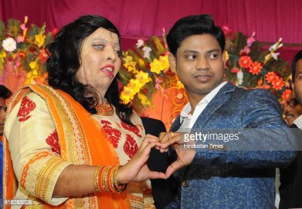 Acid attack survivor Pramodini Raul got engaged with Saroj Kumar Saho on February 14 2018 in Lucknow India Saroj Kumar Sahoo and Pramodini Roul met...