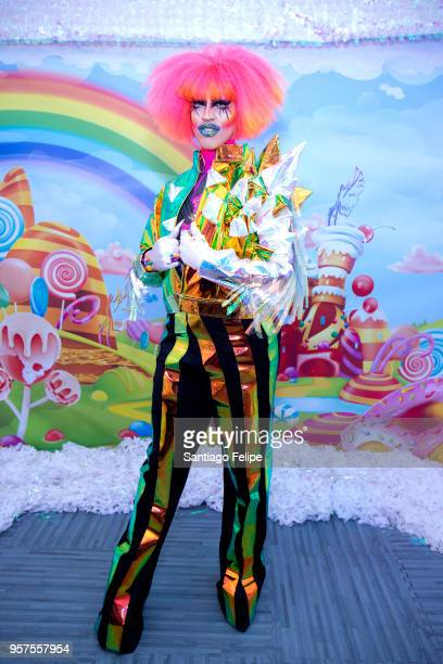 Acid Betty attends the 4th Annual RuPaul's DragCon at Los Angeles Convention Center on May 11 2018 in Los Angeles California
