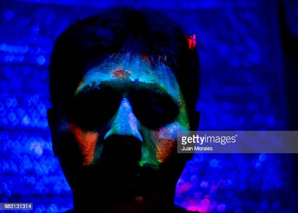 acid face - lsd stock pictures, royalty-free photos & images