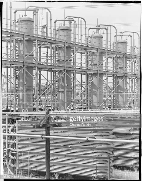 Acid plant at alabama ordnance works, circa 1954