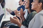 Acknowledging a colleague's achievement