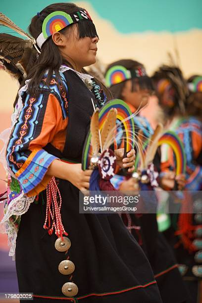 Acoma Pueblo Indian Rainbow Dancer Gallup InterTribal Indian Ceremonial Gallup New Mexico