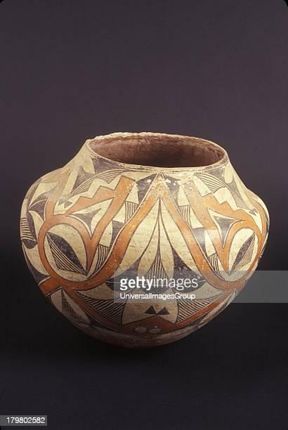 Acoma Pueblo jar E1235 Museum of Northern Arizona Flagstaff Arizona